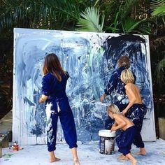 weekend do: paint your own canvas