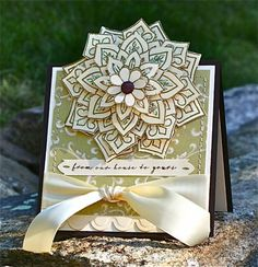 F4A79 Stacked Blossom! by Arizona Maine - Cards and Paper Crafts at Splitcoaststampers