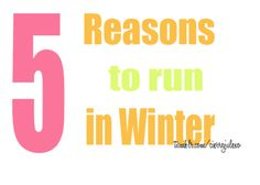 5 Reasons to Run in Winter