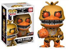 POP! Games: Five Nights at Freddy's - Jack-O-Chica - Only at GameStop for Collectibles | GameStop