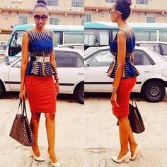 pictures of ankara peplum tops 2017 - style you 7