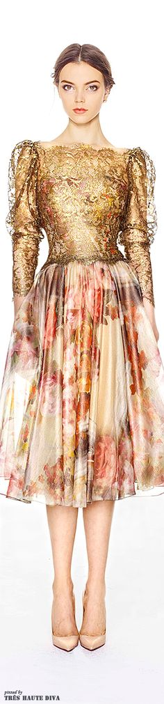 Marchesa Pre-Fall 2014 | The House of Beccaria~
