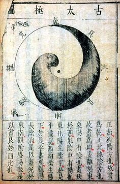 iseo58:  Zhang Huang Diagram of the Supreme Ultimate, from the Compendium of Diagrams Ming dynasty, dated 1623 Woodblock-printed book