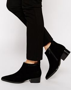 Calvin Klein Banks Suede Ankle Boots