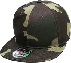 19ee72828ac KNW-2364 CAM (8) The Real Original Fitted Flat-Bill Hats by KBETHOS True-Fit