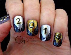Happy New Year!! More pics at quirkylacquerista.wordpress.com