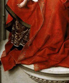 """speciesbarocus: """"Rogier van der Weyden - Durán Madonna (c. 1435). Detail. """" !!!"""