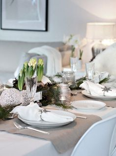 christmas table settings | christmas table setting decor Christmas Table Setting