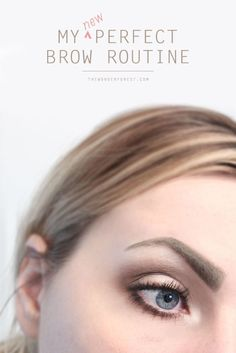 "I've gone through many phases with my brows. I've experimented with colours, techniques, and products, and have shared a few of them here before. I thought it was about time to do an updated eyebrow routine because this method has been my go-to process for getting my ""perfect"""
