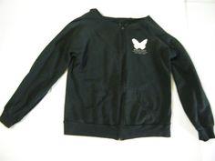Womens Mariah Carey Shake It Off Black Long Sleeve Fleece Jacket XL 2006 Tour #ClassicGirl #BasicJacket