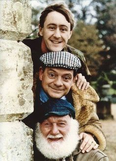 x Only Fools and Horses high quality colour photo. British Tv Comedies, British Comedy, British Actors, British History, Classic Tv, Classic Movies, Only Fools And Horses, Life In The Uk, Comedy Actors