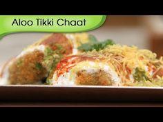 Aloo Tikki - Spicy Fried Potato Patties With Yogurt Dip - Quick Snacks R...