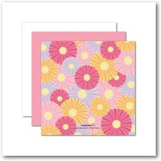 Blossom Forth - Easter Cards - Magnolia Press - Princess - Pink : Front