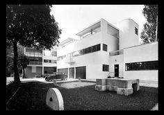 Villa Church [1927]- Ville-d'Avray by Le Corbusier