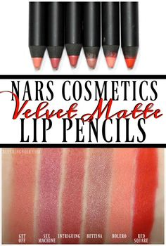 Suggestions For How To Reduce And Get Rid Of Skincare Issues - Beach Beauty Life Lipstick Swatches, Makeup Swatches, Lipstick Colors, Lip Colors, Makeup Cafe, Nars Velvet Matte, Nyx Matte, Matte Lipsticks, Nars Lip