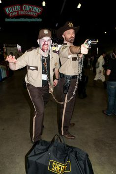 The Walking Dead #cosplay | Comikaze Expo 2013