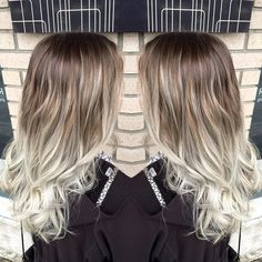 ice cold ash blonde hair for this beauty perfect for these rainy days! #ashy #hair #balayage #silver #bright #cool #winterhair #loveit #instahair #instagood #redken #redkenready #redkenobsessed #styleyourstory #behindthechair #blonde #ombre #hairtrends #like4like #followme #abbydoeshair #atomichairstudio #loveyourhair #hairstyle #trend #picoftheday by _abby_does_hair