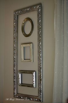 Great idea for old frames and I have  lots of them.