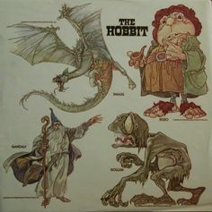 Recordings Hobbit Animated Characters Cover.jpg 673×676 pixels