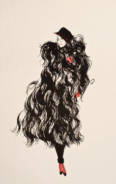 Marchesa, Black And White Illustration, Belle Epoque, Pandora, Baron, Kinky, Artist, Alice, Ideas