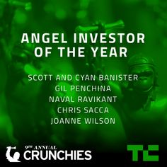 Meet The Competitors Vying For The Crunchie For Angel Investor Of The Year  Were getting ready for the 9th Annual Crunchies here at TechCrunch where some of the brightest startups companies and leaders hope to win the coveted Crunchie award in one of the 12 categories up for grabs. Read More  Source : http://ift.tt/1lUp4Y1  Filed under: Live Tagged: ITlive Meet The Competitors Vying For The Crunchie For Angel Investor Of The Year