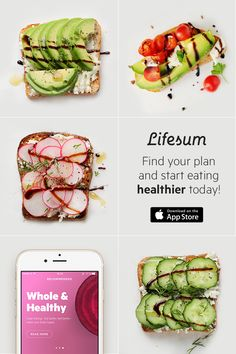 Healthy eating does not need to be boring. Pick one of Lifesum's diferent eating plans to get tips and recipe inspiration. The app makes it easy to achieve your health goals. Download it today to get started, it's free!