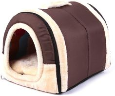 (This is an affiliate pin) Haresle Portable Small Pet House Soft Bed Cat House Washable with Removable Cushion 2 Sizes Small Dog Breeds, Small Breed, Cool Dog Houses, Dog Items, Felt Cat, Pet Fashion, Unique Animals, Animal House, Dog Bed