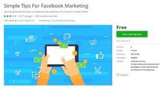 Udemy - Simple Tips For Facebook Marketing (Free) - Course Discounts & Free