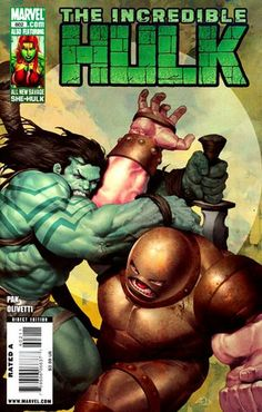 Incredible Hulk Vol. 4 # 602 by Ariel Olivetti