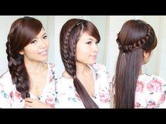3 Cute & Easy Summer Hairstyles for Medium to Long Hair - YouTubeBraid Hairstyles, Braids, braids tutorial, braids for short hair, braids for short hair tutorial, braids for long hair, braids for long hair tutorials... Check more at http://app.cerkos.com/pin/3-cute-easy-summer-hairstyles-for-medium-to-long-hair-youtube/