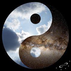 Yin Yang Original Modern Painting on Canvas by MatriXArtbyDV . Arte Yin Yang, Ying Y Yang, Yin Yang Art, Loki, Thor, Yin Yang Tattoos, Yen Yang, Macbeth Themes, Symbole Viking