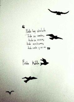 Pero tengo alas par volar.