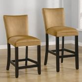 """Found it at Wayfair - 24"""" Bar Stool in Gold"""
