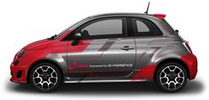Fiat 500 Car Wrap - Toronto