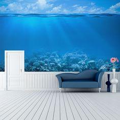 Qu tal una habitaci n con vistas al fondo del mar http - Fotomurales habitacion juvenil ...