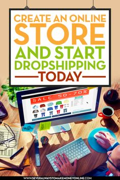 Create an online store with Shopify and start dropshipping today. Learn about the best wholesale dropship directories. Also find tips and advice on marketing your online store.   #dropshipping