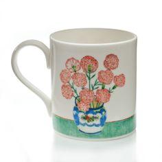 Leonard McComb Carnations Mug