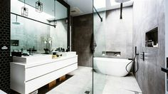 Amazing Bathroom. The Block Australia. Chris & Jenna. 2014.