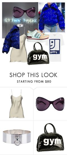 """""""frosty"""" by strangeviolet on Polyvore featuring Alberta Ferretti, Yves Saint Laurent, Betony Vernon and Trumpette"""