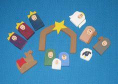Jill Made It: Wooden Nativity Set