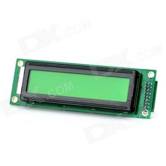 """""""IIC/I2C/TWI SPI Serial 3.3"""""""" LCD 2002 Module Electronic Building Block"""". """"Model N/A Quantity 1 Color Green Material FR4 Features 3.3"""""""" LCD display, supports IIC / SPI Application DIY Arduino based project Packing List 1 x Electronic building block"""". Tags: #Electrical #Tools #Arduino #SCM #Supplies #Displays"""