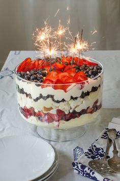 July 4th Recipe: Red, White, and Blue Trifle — Dessert Recipes from The Kitchn | The Kitchn
