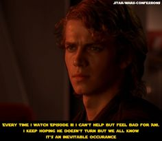 Star Wars Confessions [ ugh, I know. I go through this aggravation every time I watch it ]