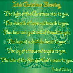Irish Christmas Blessing