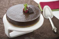 Tarta de chocolate sin horno