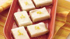 Buttery, rich shortbread bursts with a twist of lemon flavor.