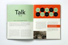 financial report - reduced colour palette