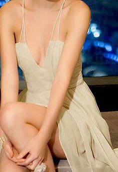 Cream Babydoll Dress