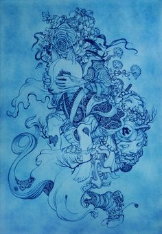 Piggyback by James Jean