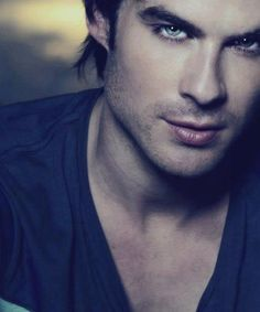 The Vampire Diaries Damon Salvatore(Ian Somerhalder) Vampire Diaries Damon, Ian Somerhalder Vampire Diaries, Vampire Diaries The Originals, Ian Somerhalder Young, Nikki Reed, Christian Grey, Robert Pattinson, Beautiful Eyes, Gorgeous Men
